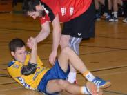 Handball, Bezirksoberliga: Aufstehen und weitermachen