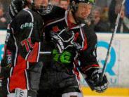 Eishockey, Viertelfinale: Jubel nach einer starken Partie