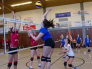 Volleyball-Regionalliga Frauen: Viel Aufwand, wenig Ertrag