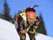 Biathlon-WM 2017: Biathlon-WM-Ergebnisse: Laura Dahlmeier gewinnt viertes Gold