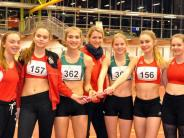 Leichtathletik: Bei der Premiere springt Platz fünf heraus