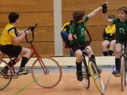 Radball: Schüler freuen sich über Platz drei