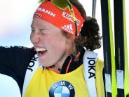 Biathlon: Dahlmeiers Erfolge sind Wahnsinn