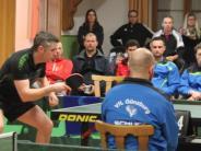 Tischtennis: Aufsteiger stoppt Siegesserie