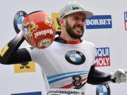 Fünfter Titel für Dukurs: Skeletonpilot Axel Jungk bei WM Zweiter