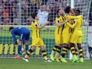 «Bereit» für den Pokal: Aubameyangs Tore in Freiburg erfreuen BVB