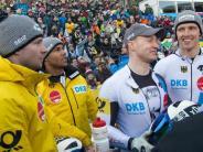 Deutscher Dreifach-Triumph: Historisch: Lochner/Friedrich im Viererbob zeitgleich