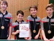 Tischtennis: Die Jugend ist gut in Schuss