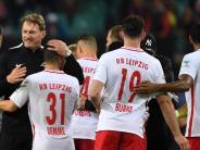 Es begann gegen Augsburg: RB Leipzig hofft auf erneute Siegesserie