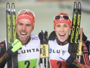 Sieg mit Frenzel im Teamsprint: Rydzek schreibt Geschichte: Viertes WM-Gold in Lahti