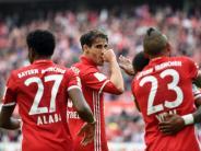 Bundesliga: 23. Spieltag: Bayern auf Titelkurs - BVB mit Kantersieg