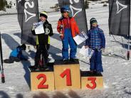 Ski alpin: DJK Leitershofen besetzt das ganze Podest