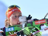 Einmalige Saison: Laura Dahlmeier kann Biathlon-Gesamtweltcup gewinnen