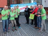Ipf-Ries-Halbmarathon: Die Organisatoren sind schon in Bestform