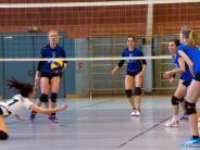 Volleyball-Regionalliga: Eine arbeitet, die anderen schauen zu