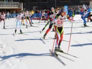 Biathlon: Eine Vöhringerin läuft vorneweg