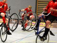 Radball: Akrobaten auf zwei Rädern