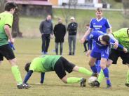 Fußball: Schwabegg kann Überzahl nicht nutzen