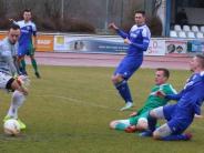 Fußball-Landesliga: Teilerfolg beim Tabellenzweiten
