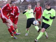 Frauenfußball: Biberbach setzt sich im Derby durch