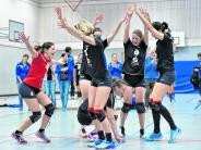 Volleyball: Penzing, wie es tanzt und lacht