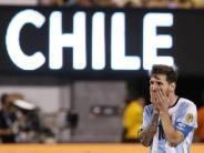Argentinien: FIFA sperrt Messi wegen Beleidigung für vier Spiele