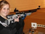 Sportporträt: Am Schießstand bleibt Carolin Limmer ganz locker