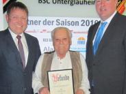 Jahresversammlung: Ein neues Ehrenmitglied beim BSCU
