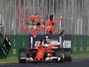 Hamiltons Jagdinstinkt geweckt: Sieg beim Formel-1-Auftakt: «Weckruf» von Vettel
