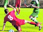 B-Junioren-Landesliga: Remis hilft TSV-U17 nicht wirklich weiter