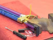 Gau-Rundenwettkämpfe Luftpistole: Vier Ringe entscheiden das Nachbarschaftsduell