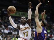95:91 gegen Phoenix: NBA: Schröder führt Atlanta mit 27 Punkten zum Sieg