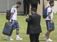 Messi vier Spiele gesperrt: Ohne Messi geht Argentinien die Luft aus - WMin Gefahr