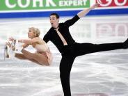 Schwacher Start für Schott: Savchenko/Massot bei Eiskunstlauf-WM auf Medaillenkurs