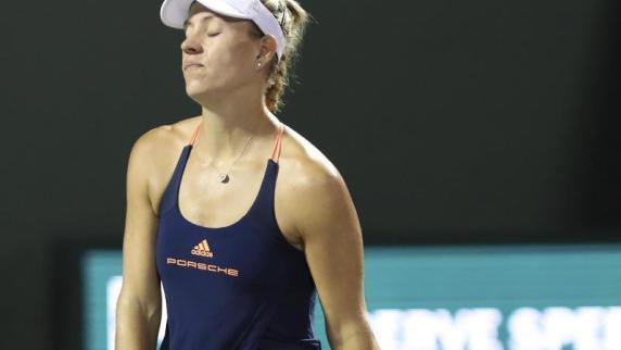 5:7, 3:6: Kerber verliert Viertelfinale von Miami gegen Venus Williams