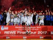 Nord-Derby im Endspiel: Kiel gewinnt DHB-Pokal: 29:23 im Finale gegen Flensburg