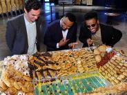 Jubiläumsjahr: Footballer sind richtig hungrig