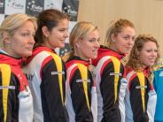 Fed Cup geegn die Ukraine: Kerber &Co. kämpfen gegen den Abstieg