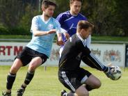 Kreisliga-Topspiel: Auer halten einen Punkt fest