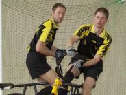 Radball: Mindelheimer Duo hat nun mehr Zeit für die Jugend