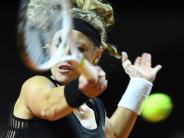 WTA-Turnier in Stuttgart: Vor Scharapowas Comeback:Siegemund erreichtAchtelfinale
