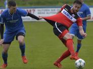 Fußball-Landesliga: Aindling rutscht auf Rang acht