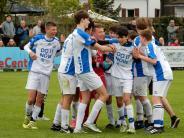 Jugend-Fußball: Aichacher U15 jubelt über Pokalsieg