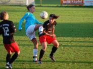 Frauenfußball: Türkheimerinnen haben doppelt Pech