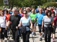 Landkreis-Tour: Nordic Walking läuft gut