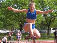 Leichtathletik: Weite Sprünge, gute Zeiten