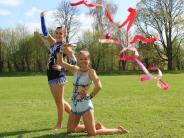 Rhythmische Gymnastik: Wenn die bunten Bänder flattern