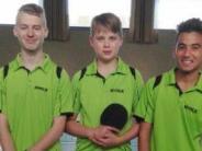 Tischtennis: Jungen holen für Pöttmes die Titel