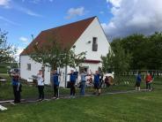 Ries-Gau Nördlingen: Hochbetrieb an den Bogenständen