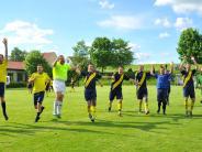 Fußball: Kreisklasse Nord 2: Jubel bei der SG Unterringingen/Amerdingen